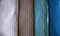 Toalhetes de mesa de várias cores
