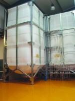 Sistema de armazenamento e dosagem de macro e micro ingredientes